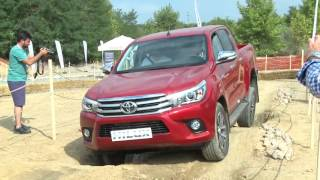 getlinkyoutube.com-Yeni Toyota Hilux basın testi / offroad