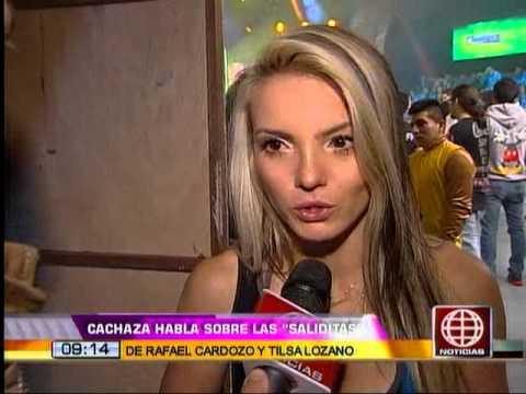 Cachaza sobre salida de Rafael Cardozo y Tilsa Lozano: