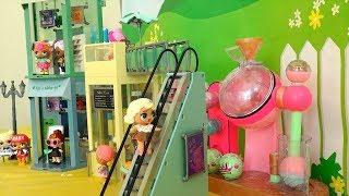Bonecas LOL Surpresa No Shopping Nova Máquina de Fazer Bolas Efervescentes -Brinquedonovelinhas