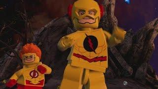 getlinkyoutube.com-LEGO Batman 3 - Reverse Flash & Kid Flash (Unlock Location & Gameplay)