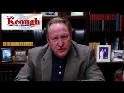 Mark Keough for Texas State Representative District 15 opposing candidate Bruce Tough