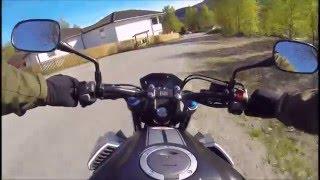 getlinkyoutube.com-Honda cb 500 f - 2016 Testride and small review