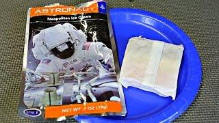 Testing Astronaut Ice Cream