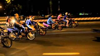 getlinkyoutube.com-Đua xe đêm Noel - Việt Nam Xmas 2015 (VNRCB TV)