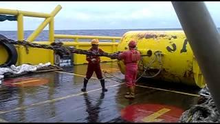 getlinkyoutube.com-Anchor handling Kuala Baram ( miri malaysia )