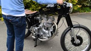 getlinkyoutube.com-Royal Enfield Bobber / Chopper / Custom - Starting - Sound