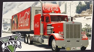 getlinkyoutube.com-COCA-COLA CHRISTMAS TRUCK IN GTA 5!