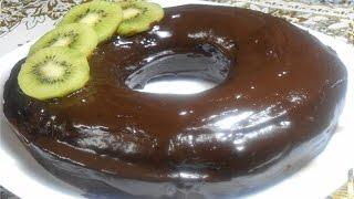 getlinkyoutube.com-cake  au chocolat / كيك الشوكولا سهلة وسريعة