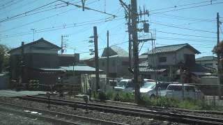 getlinkyoutube.com-東海道線茅ヶ崎駅通過 前日の事故の影響で
