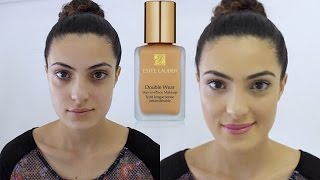 First Impression - Estee Lauder Double Wear Foundation