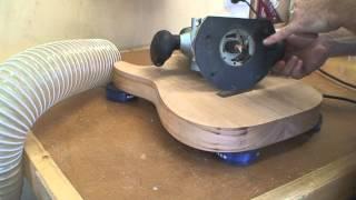 getlinkyoutube.com-Stratocaster Guitar Build -  Part 7 - How to Build A Stratocaster Body