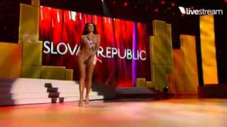 getlinkyoutube.com-Miss Universe 2011 Swimsuit Paraguay-Sri Lanka