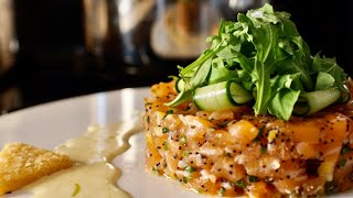 getlinkyoutube.com-Salmon Tartare w/ Lemon Confit - Bruno Albouze - THE REAL DEAL