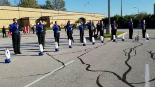 Fairfield Marching Pride in the Lot!