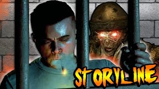 getlinkyoutube.com-MOB OF THE DEAD STORYLINE! (NEW EXPLAINATION) Zombies Characters in Hell | Black Ops 2 Zombies Story