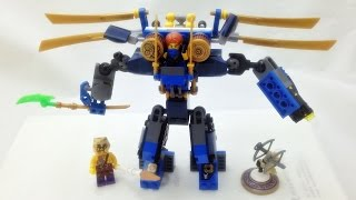 getlinkyoutube.com-레고 닌자고 제이의 일렉트로메크 로봇 머신 LEGO Nijago 70754 Electro Mech 조립과 스톱모션