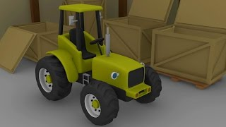 getlinkyoutube.com-Tractor For Kids | Tractors and other fairy tales | Formation and Uses | Bajki Dla Dzieci - Traktory