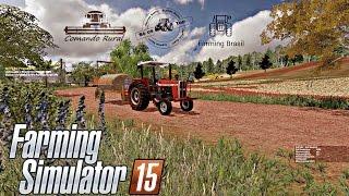 Farming Simulator 2015 - Mapa Sítio Pinheirinho, Passando Veneno com o MF 275
