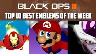 Black Ops 3 - Top 10 Best Emblems Of The Week #3