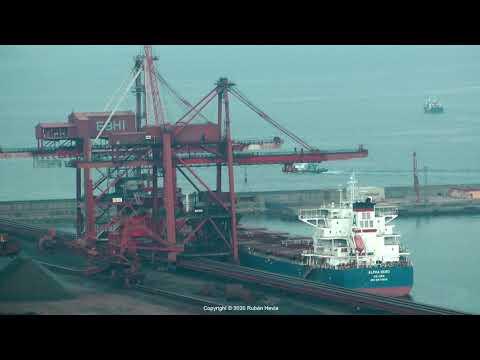 Click to view video Timelapse ALPHA HERO IMO 9671826 V7KA4 MARSHALL ISLANDS grabado en GIJON en HD el 02.06.2020 por Ruben Hevia.
