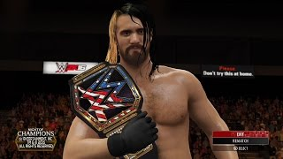 WWE 2K16: WWE United States World Heavyweight Championship