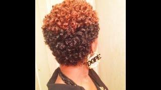 getlinkyoutube.com-AWESOME Perm Rod Set on Natural Hair (No Heat)