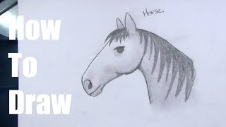 How To Draw a Horse For Kids Step By Step