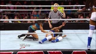 getlinkyoutube.com-Kaitlyn & The Funkadactyls vs. AJ Lee & The Bella Twins: Raw, May 6, 2013