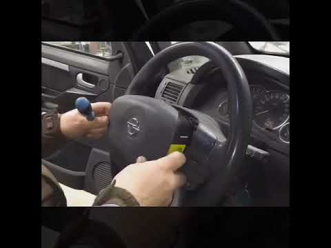 Как снять подушку безопасности Opel Combo 2001-2005 Dr.VOLANT
