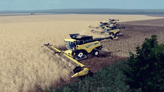 getlinkyoutube.com-Big Harvest XXXXL with New Holland CR10.90☆Mig Map☆Farming Simulator 2015 [HD]