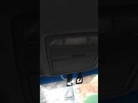 Toyota Camry v40 как снять консоль освещения, плафон. (люстру).