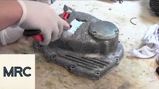 getlinkyoutube.com-How to Paint a Motorcycle Engine Cover
