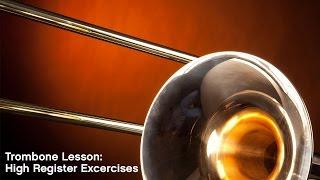 getlinkyoutube.com-Trombone Lesson: High Register Exercises