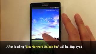 getlinkyoutube.com-Unlock Sony Xperia - All Models Support (Z5, Z4, Z3, Z2, ZR, ZL, Z, L, M4, SP, E, Dual, V, J, Miro)