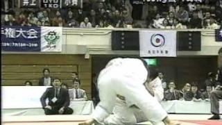 getlinkyoutube.com-01全日本柔道選抜体重別100キロ級 井上康生VS小斉