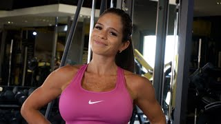 getlinkyoutube.com-MICHELLE LEWIN Workout: Shoulders - Small Tricks, Big Results