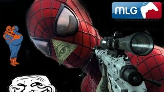 The Amazing Spider Man 2 End Scene MLG