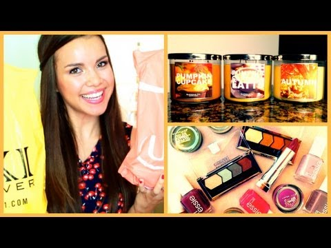 Fall Haul ♥ Clothes, Makeup, Candles, and More!
