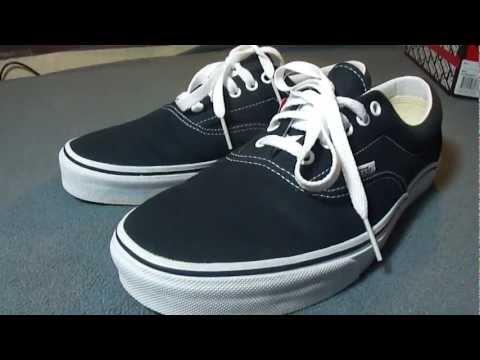 Shoe Review: Vans Era (Navy)