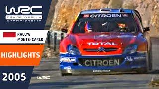 getlinkyoutube.com-WRC Highlights: Monte Carlo 2005: 52 Minutes