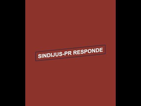 Sindicato inicia série de vídeos SINDIJUS-PR RESPONDE
