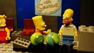 "getlinkyoutube.com-LEGO Simpsons ""Bowling"""