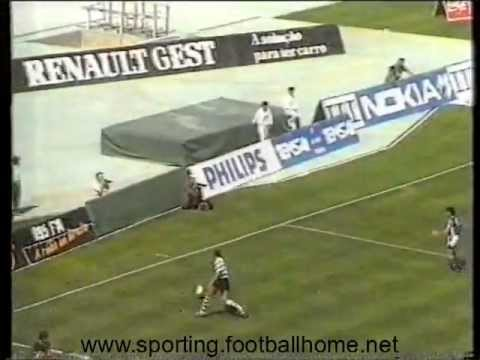 Sporting - 2 Gil Vicente - 0 de 1990/1991