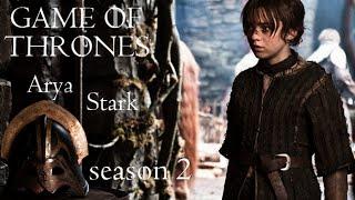 getlinkyoutube.com-Arya Stark -  season 2 (vostfr) (Game of Thrones)