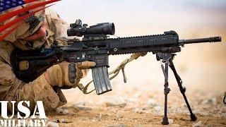 getlinkyoutube.com-「M27 IAR」 アメリカ海兵隊・分隊支援火器 (歩兵用自動小銃) - USMC M27 Infantry Automatic Rifle