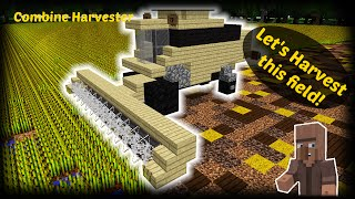 getlinkyoutube.com-Minecraft - How to build a Combine Harvester