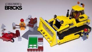 getlinkyoutube.com-Lego City 60074 Bulldozer Speed Build Review