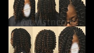 getlinkyoutube.com-♡ TnC - 31 ♡ Crochet Braids in 2hrs or Less - Deja Vu Samba Pre-Curled Hair