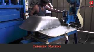 getlinkyoutube.com-Trolley Manufacturing Machinery By Yashwant Industries, Ahmedabad