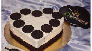 getlinkyoutube.com-Oreo Cheesecake شهيوات ريحانة كمال تشيز كيك بأوريو لذيذ